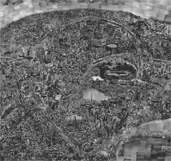 Diarama of Tokyo