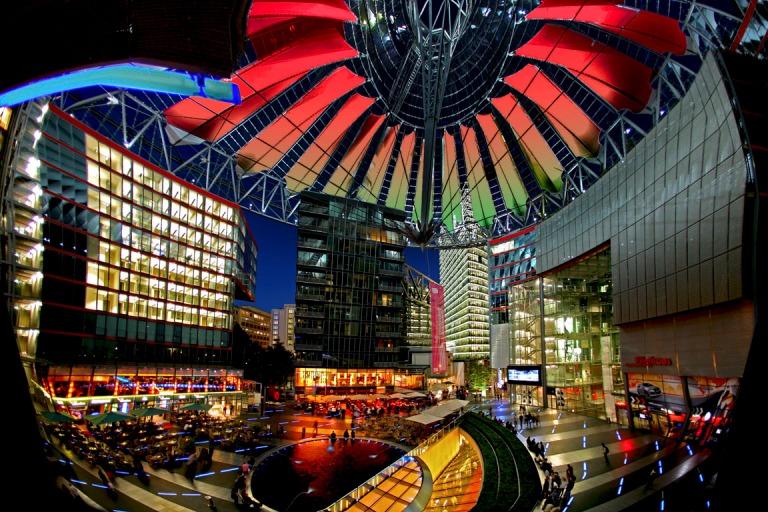 The Sony Centre in - Berlin